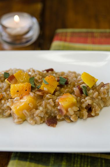 Maple Bacon Butternut Squash Farrotto | Bob's Red Mill