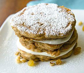 Carrot Cake Pancakes 2