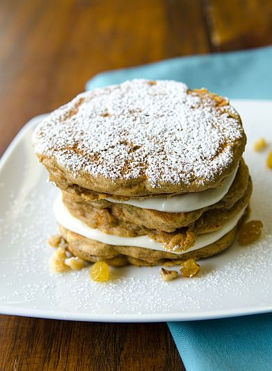 Carrot Cake Pancakes | Bob's Red Mill