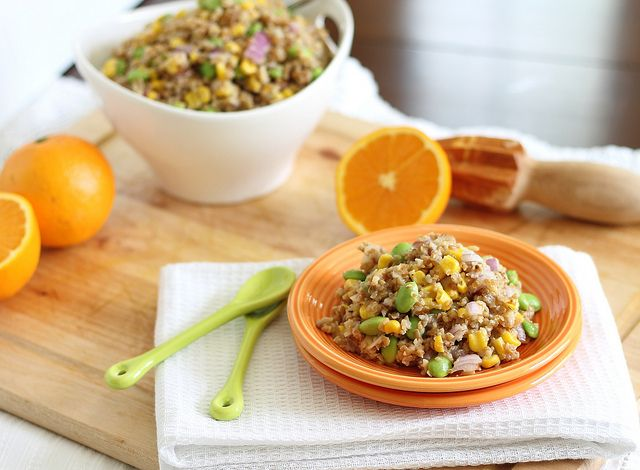 Bulgur Wheat Salad with Orange Dijon Dressing| 7 Exciting New Ways to Try Bulgur