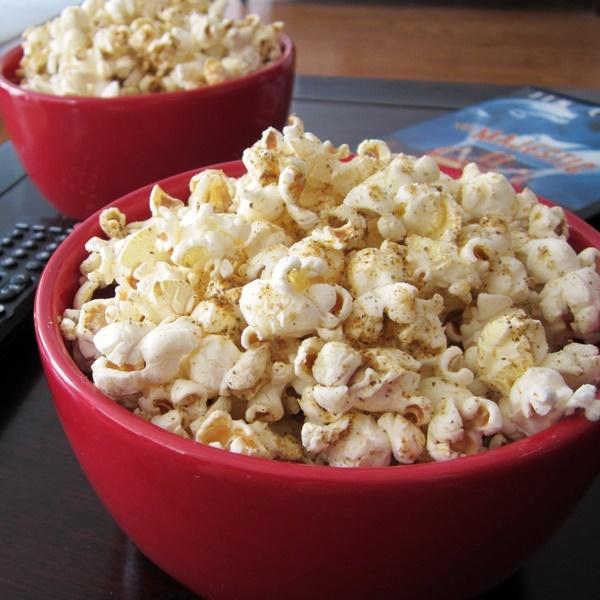 Cheesy Chia Popcorn 3