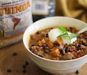 Black Bean and Sweet Potato Chili 3