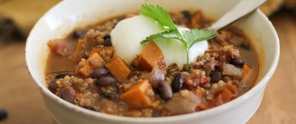 Sweet Potato, Black Bean and Quinoa Chili | Bob's Red Mill