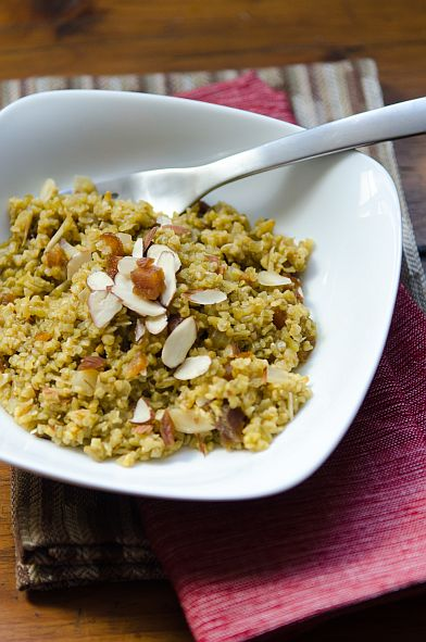 Freekeh Pilaf w Apricots & Almonds | Bob's Red Mill