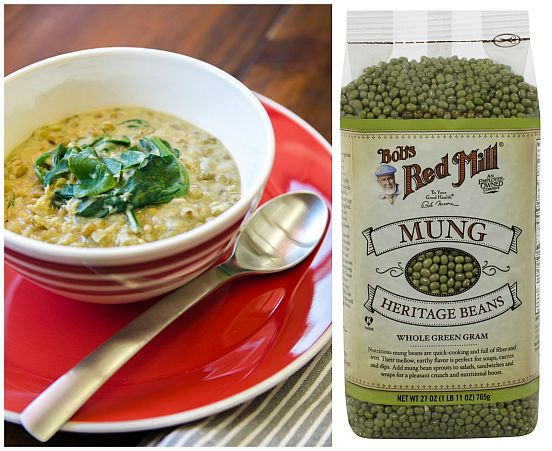 Mung Bean and Spinach Stew 2