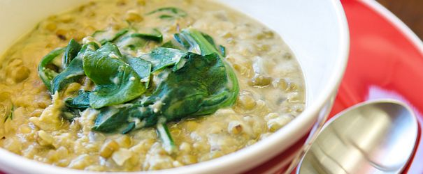Gluten Free and Vegan Mung Bean and Spinach Stew | Bob's Red Mill