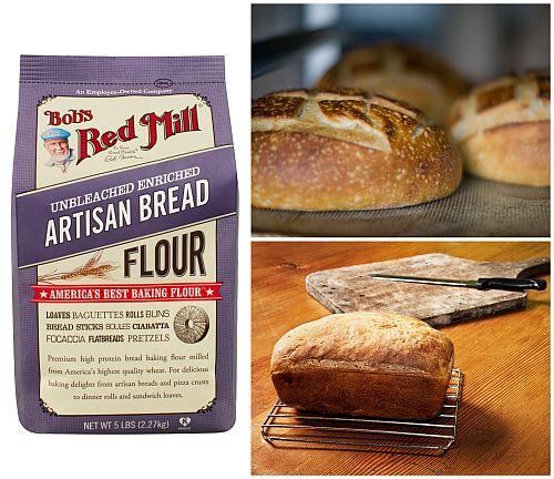 Sensational What Is It Wednesday Artisan Bread Flour Bobs Red Mill Blog Short Hairstyles Gunalazisus