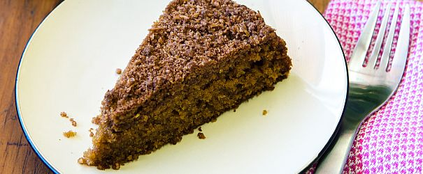 Coconut Sugar Coffee Cake F