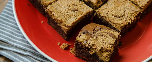 Peanut Butter Brownies F