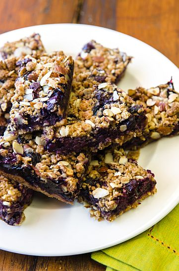 Blueberry Crumble Bars | Bob's Red Mill