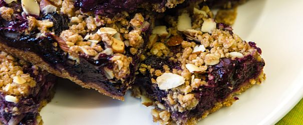 Blueberry Crumble Bars F