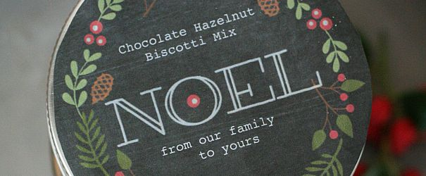 Chocolate Hazelnut Biscotti Mix F