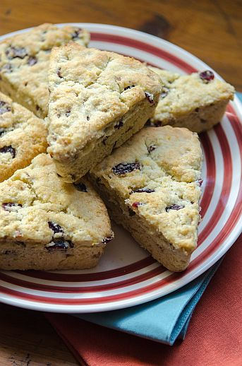 Cranberry Walnut Scones | Bob's Red Mill