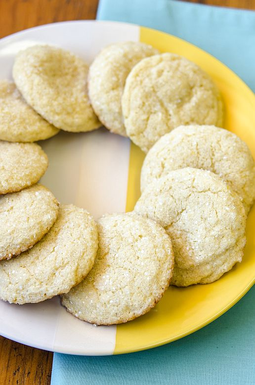Lemon Sugar Cookies | Bob's Red Mill