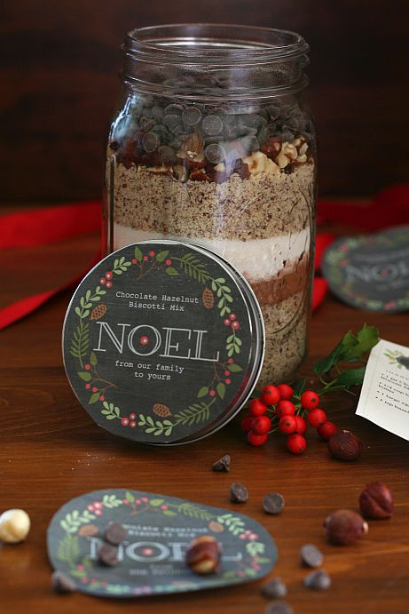 Chocolate Hazelnut Biscotti Mix in a Jar | Bob's Red Mill
