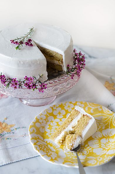Amazing Almond Layer Cake | Bob's Red Mill  gluten free, grain free