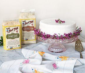 Amazing Almond Layer Cake | Bob's Red Mill  gluten free, grain free