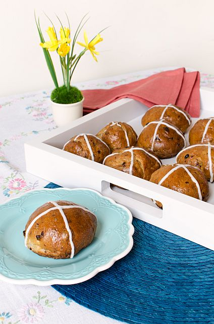 Hot Cross Buns | Bob's Red Mill @bobsredmill