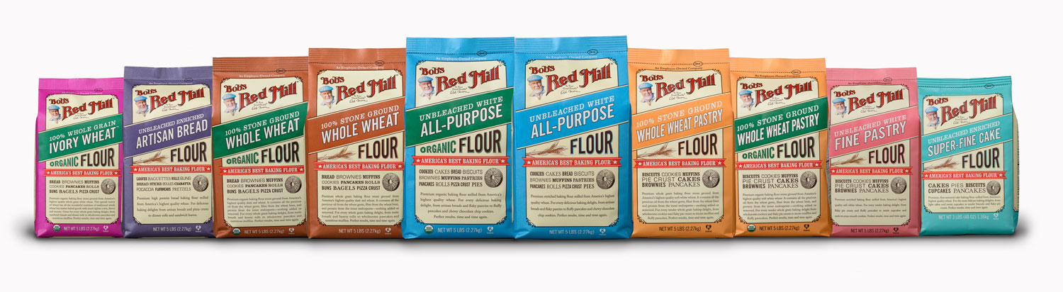 Bob's Red Mill Flour Primer: gluten free, high protein, low carb, whole grain- we have it all and we'll tell you how to use it. #bobsredmill