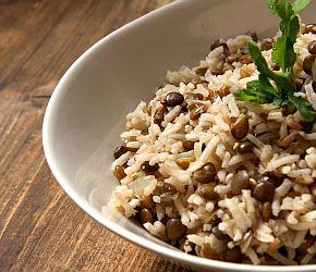 Mujaddara | Bob's Red Mill || gluten free, vegan, whole grain