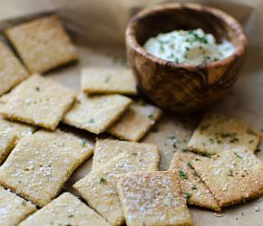 Nooch Crackers | Bob's Red Mill gluten free, dairy free, paleo friendly, vegan