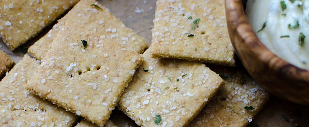 Nooch Crackers | Bob's Red Mill gluten free, dairy free, paleo friendly, vegan