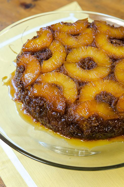 We love this decadent Pineapple Upsidedown Cake!