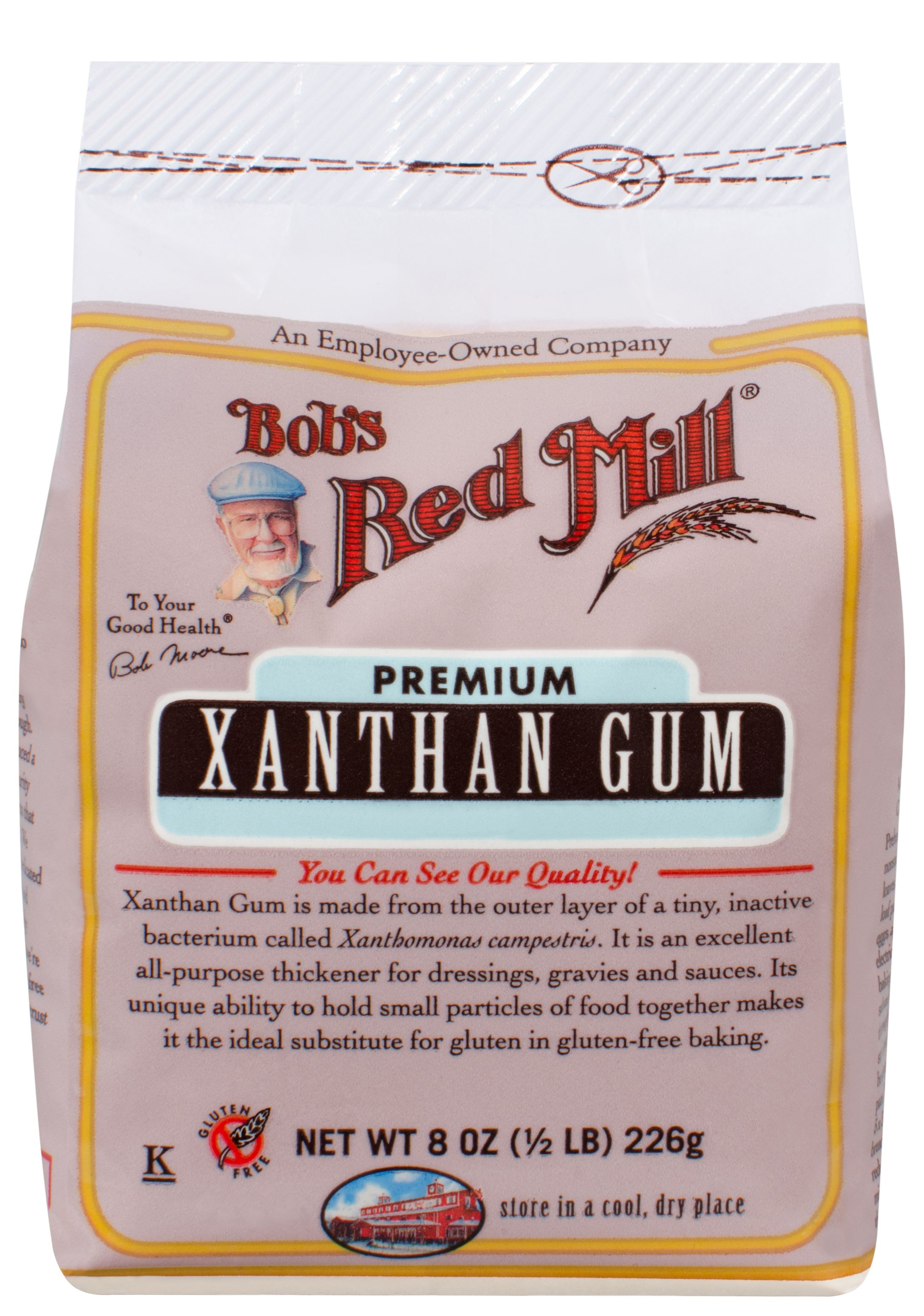 How to Clean up Xanthan Gum | Bob's Red Mill