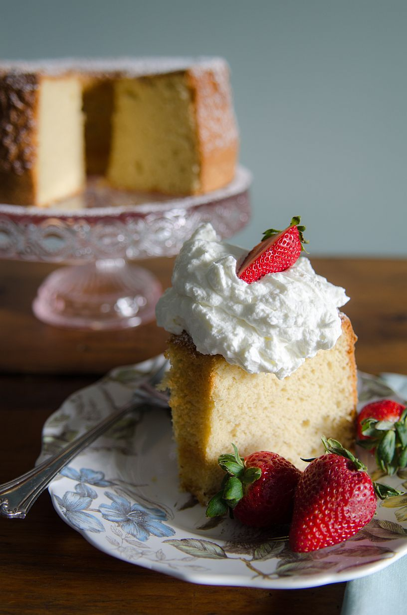 Perfectly balanced gluten free Chiffon Cake using our Gluten Free 1-to-1 Baking Flour | Bob's Red Mill