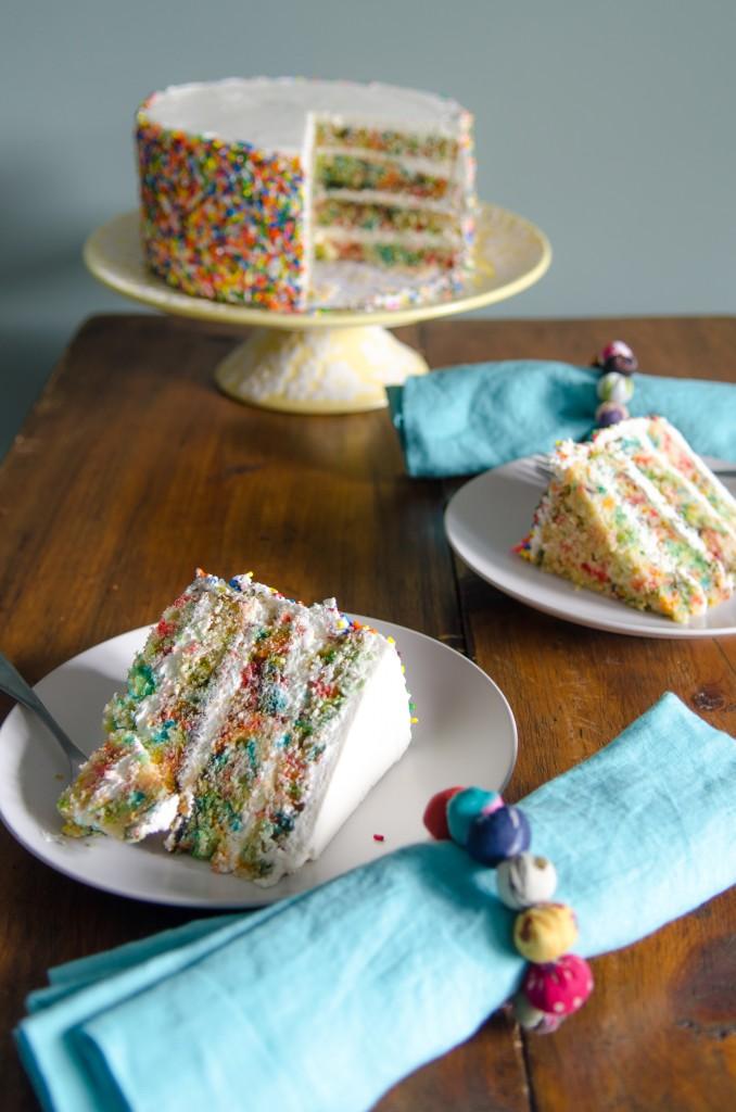 Confetti Cake Gluten Free