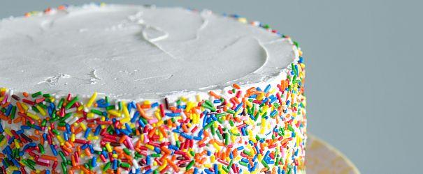 GF Confetti Cake | Bob's Red Mill || gluten free