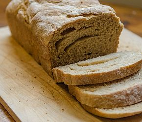 100% Whole Grain Whole Wheat Sandwich Bread using Ivory Wheat Flour perfect for sandwiches, toast and French Toast.   Bob's Red Mill
