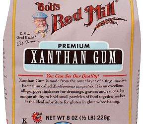 How to Clean up Xanthan Gum