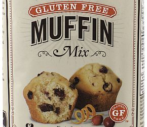 """With Bob's Red Mill Gluten Free Muffin Mix, making scrumptious gluten free muffins at home is as easy as 1, 2, 3! Just combine the mix with a few simple ingredients, add your favorite """"mix-ins"""" (fruit, nuts or chocolate), and bake. It's never been easier to enjoy simple, wholesome gluten free muffins at home. Mixed and Packaged in our Gluten Free Facility, each batch is tested in gluten free laboratory to ensure its gluten free status. Dairy Free"""