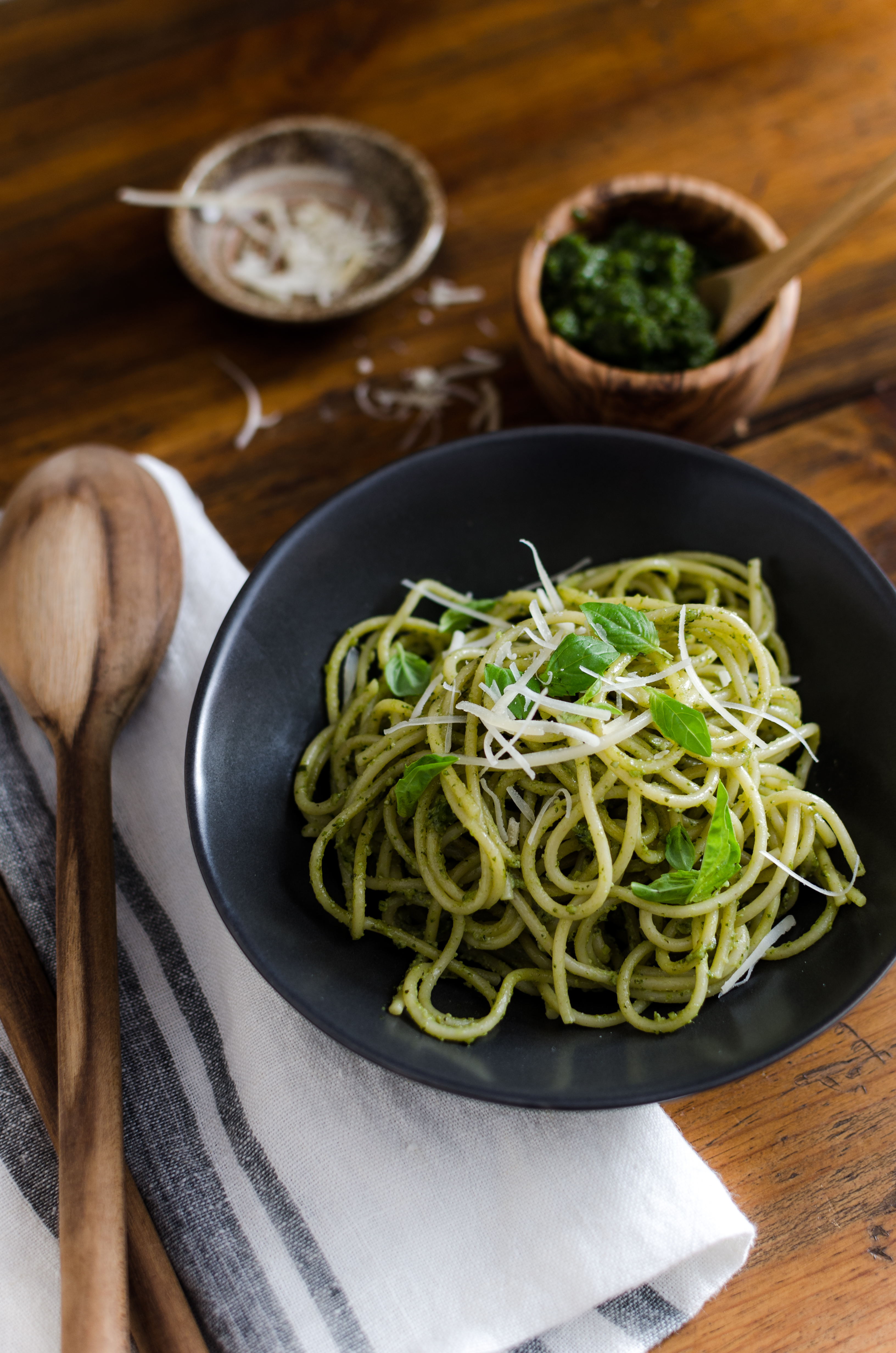 Easy, addictive Hemp Pesto perfect for pasta, pizza and sandwiches. // Bob's Red Mill // gluten free, vegetarian