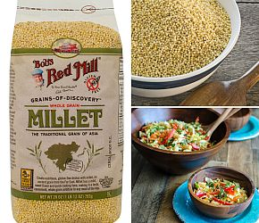 What is it? Wednesday: Millet! Learn all about this highly nutritious, gluten free, alkaline grain. // Bob's Red Mill