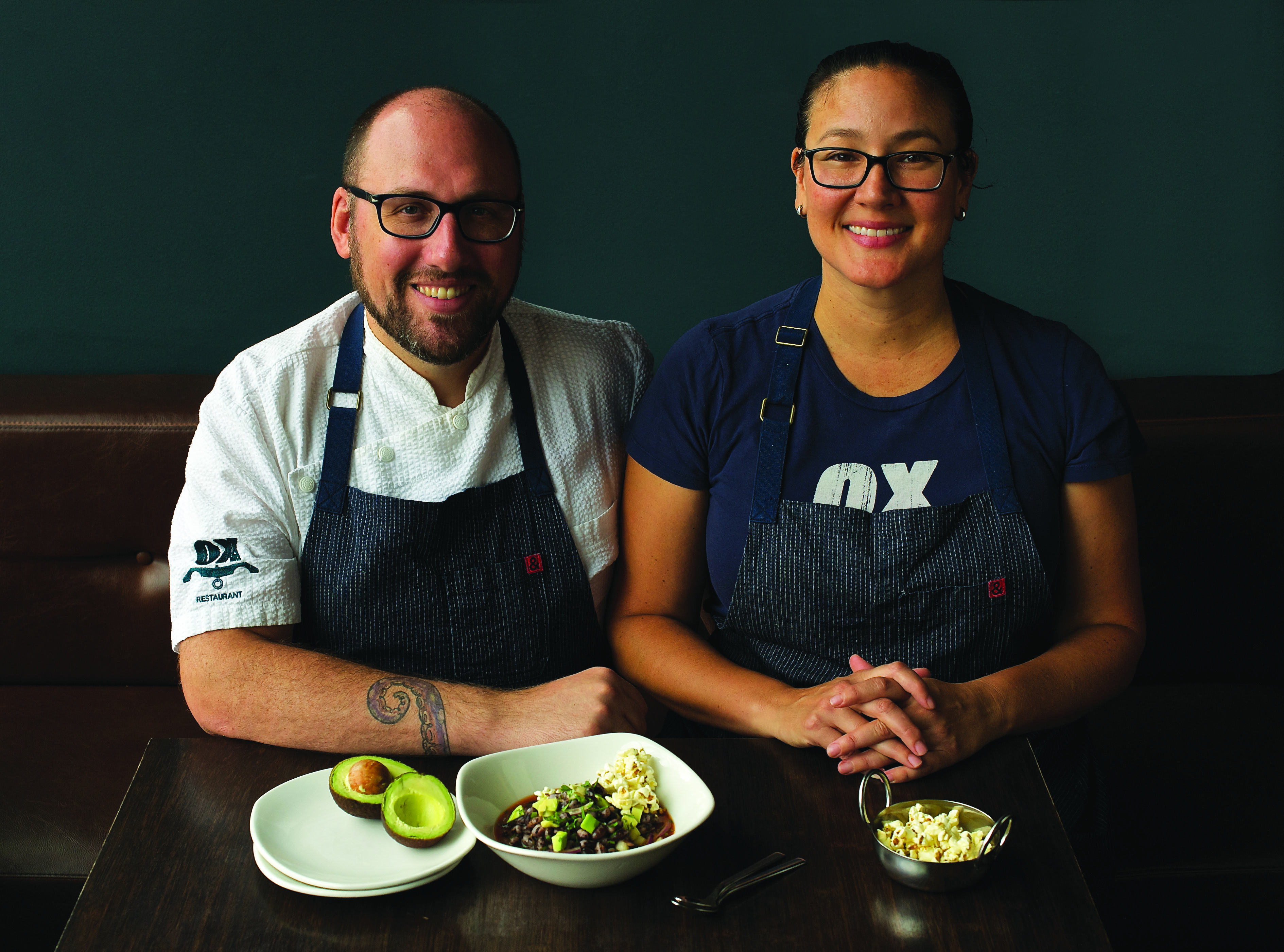 Greg & Gabrielle Denton, Chef-owners, Ox Restaurant, Portland, Oregon