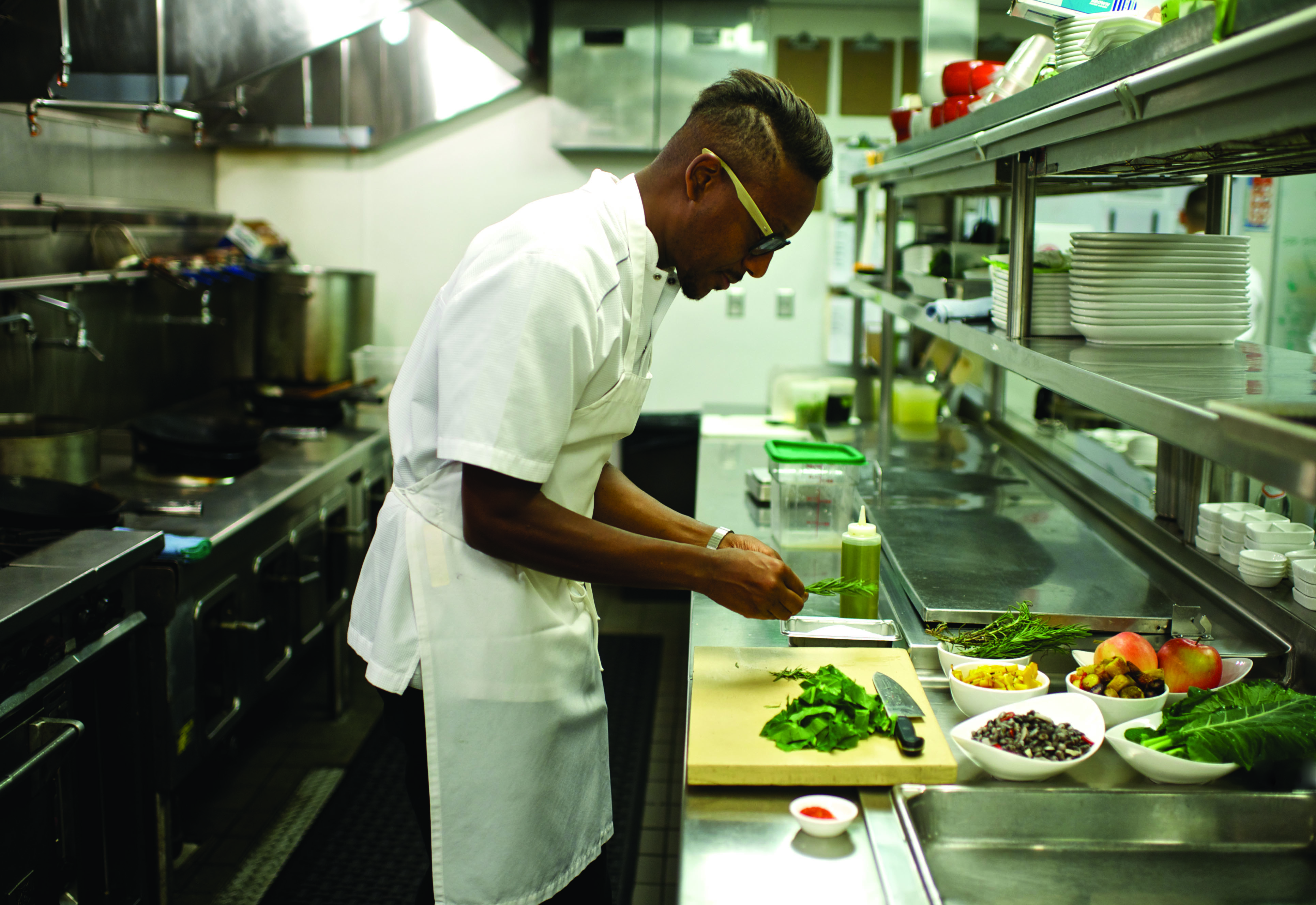 Executive Chef Gregory Gourdet of Departure Restaurant and Lounge