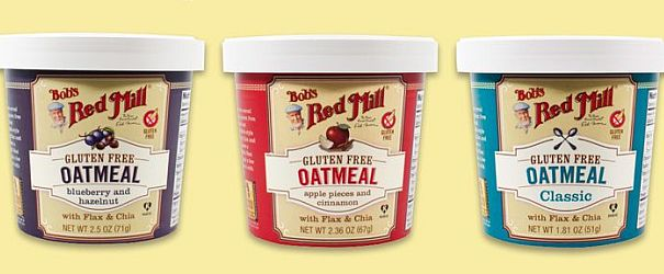 Image result for bob's red mill oatmeal cups