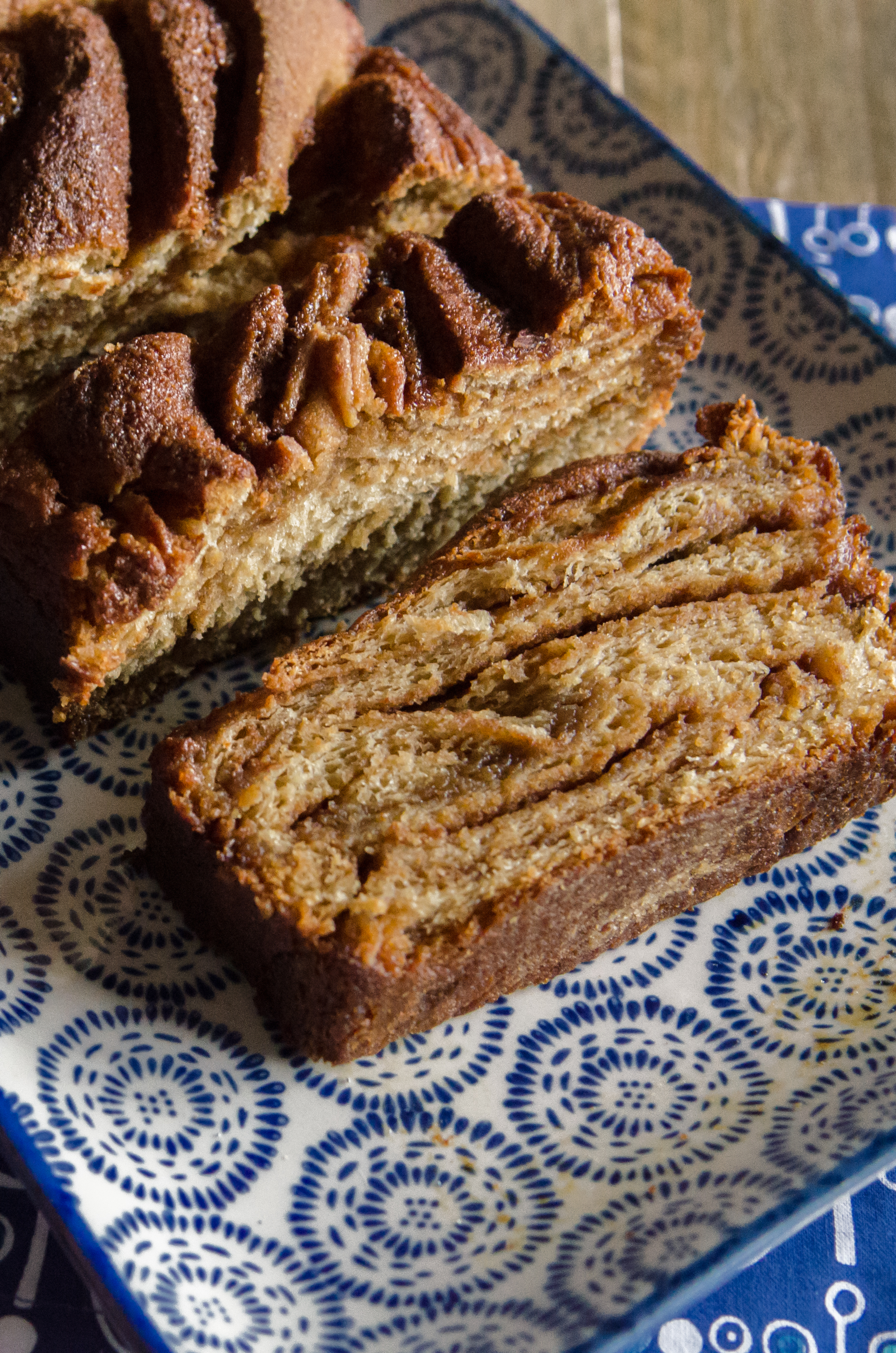 Whole Grain Cinnamon Babka is perfect for Christmas morning with a bit of planning. // Bob's Red Mill