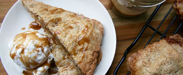 Caramel Apple Hand Pies- flaky, portable, gluten free and oh-so-worth it! // @BobsRedMill