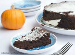 Pumpkin Spice Chocolate Cake