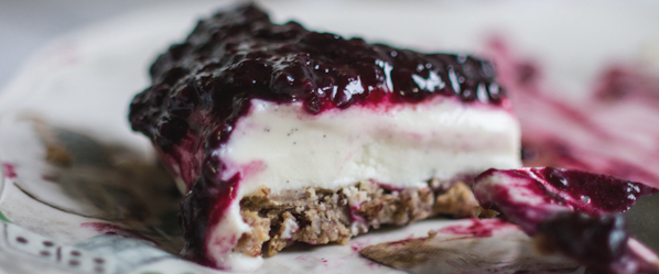 blackberry cheescake
