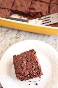Double Chocolate Coconut Brownies - Bran Appetit
