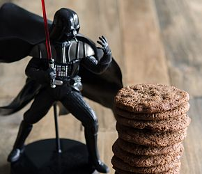 """""""May the Fourth be With You"""" Wookiee Cookies: chocolaty, chewy, a little rough around the edges, just like our favorite Wookiee. // @bobsredmill.com"""