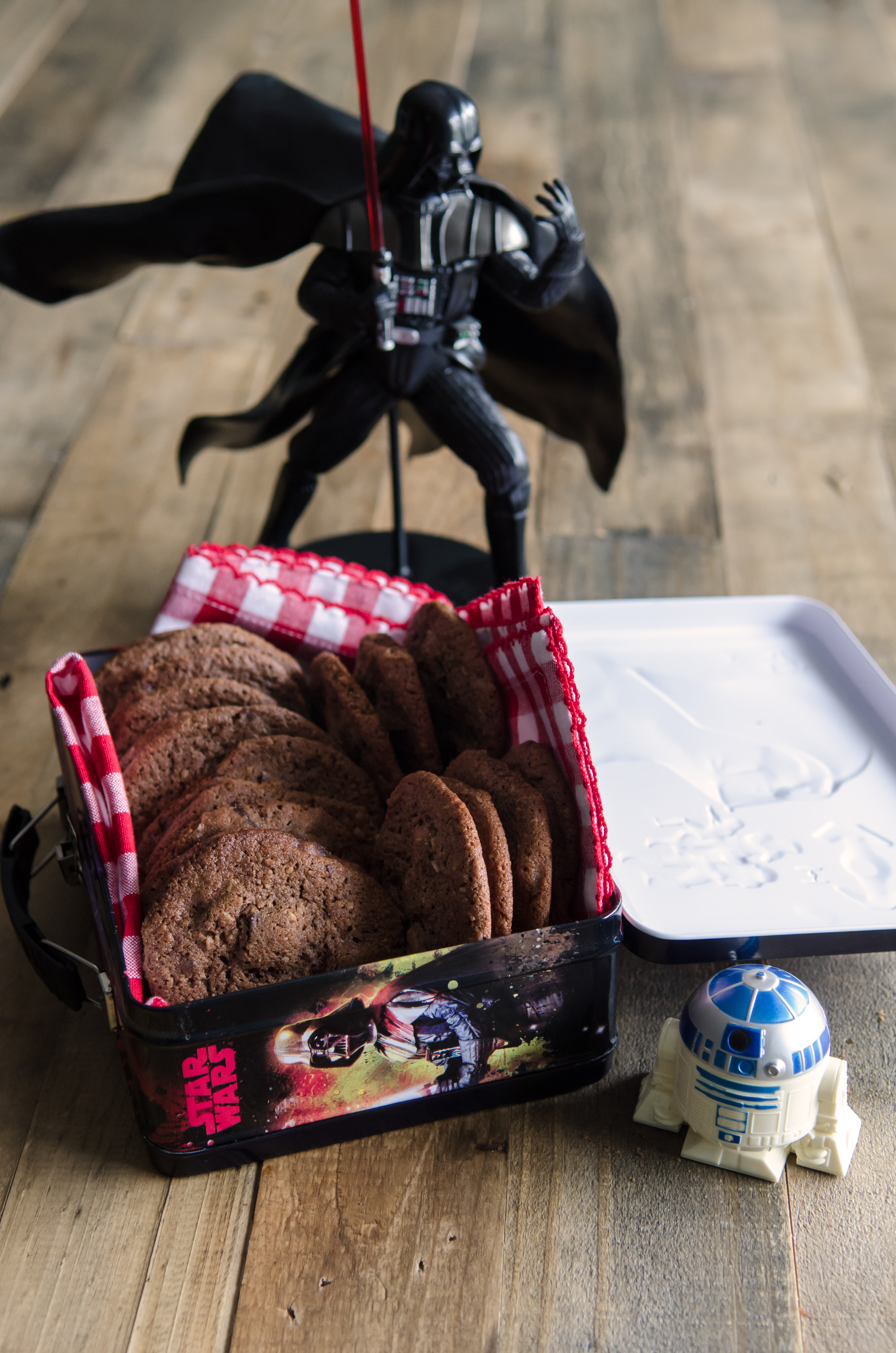"""May the Fourth be With You"" Wookiee Cookies: chocolaty, chewy, a little rough around the edges, just like our favorite Wookiee. // @bobsredmill.com"