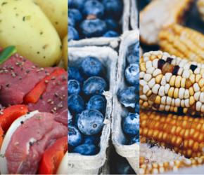 gluten free food list blueberries corn