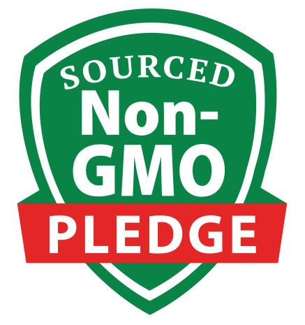 @BobsRedMill Sourced Non GMO Pledge