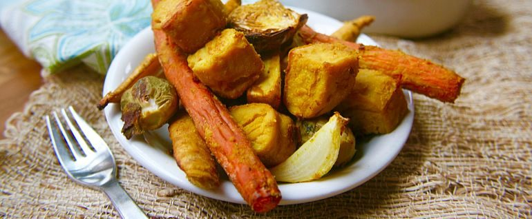 Winter harvest root vegetables with burmese tofu bobs red mill blog none forumfinder