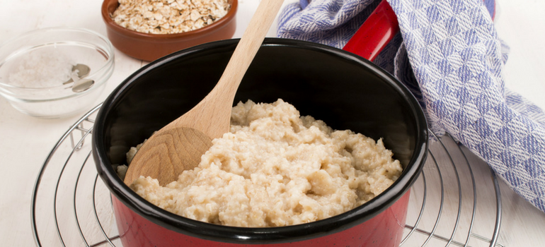 how to cook rolled oats on the stove